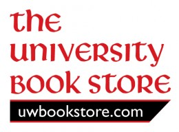 The University Book Store logo and website link