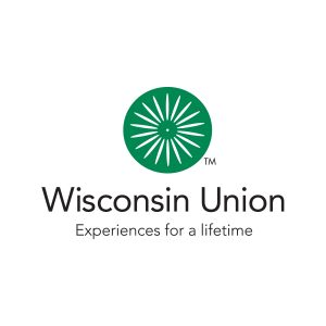 "Wisconsin Union logo that reads ""Experiences for a lifetime."""