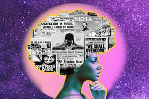 feature image for Black History Month: Afrofuturism