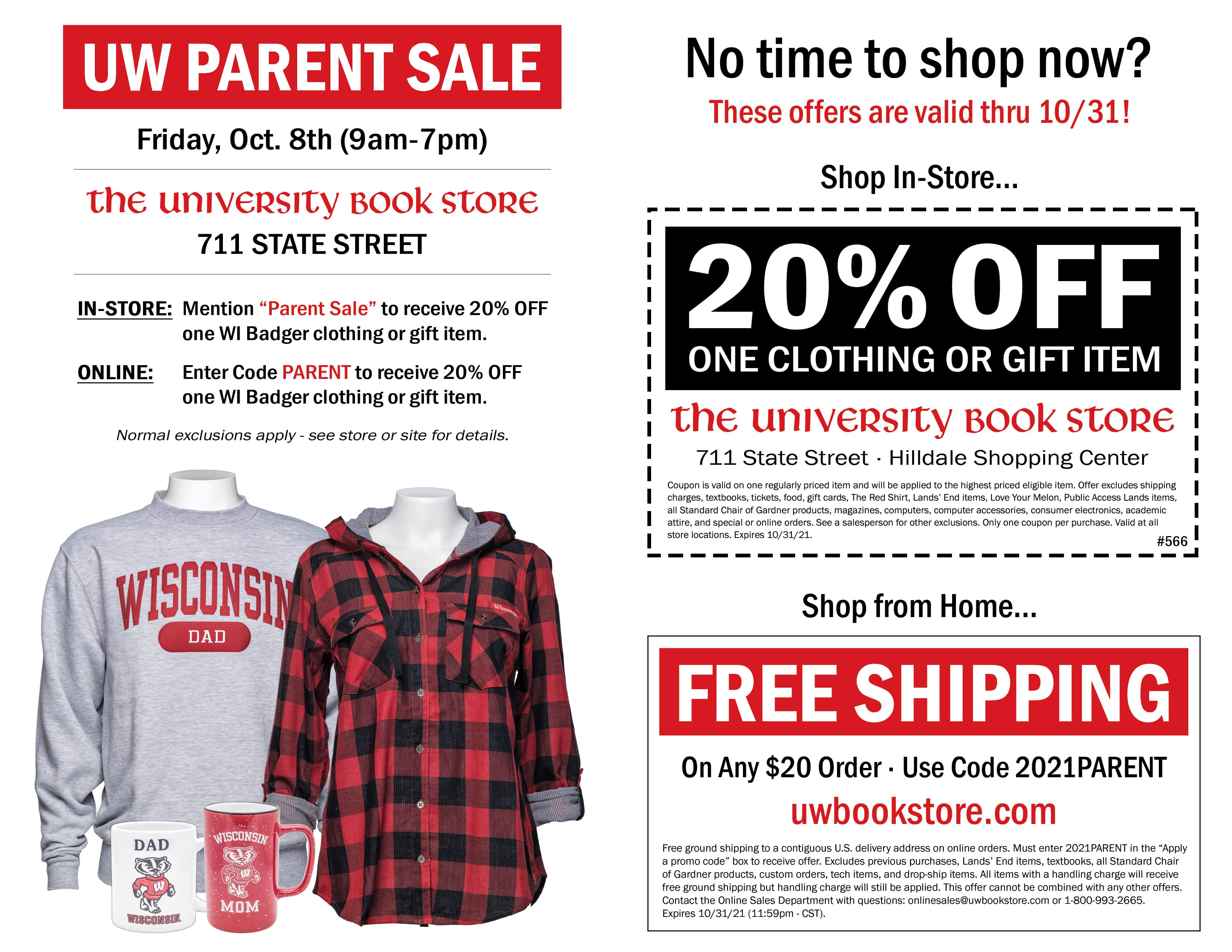 UBS Family Weekend Ad